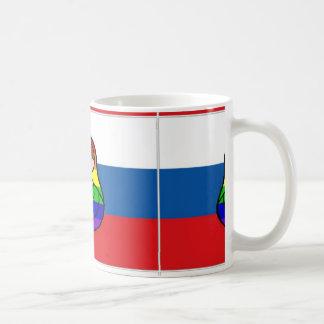 Rainbow Matryoshka Flag mug
