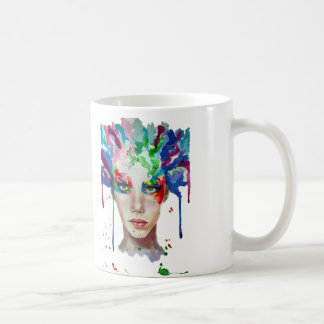 rainbow Medusa Coffee Mug