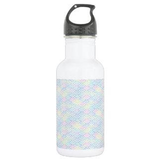 Rainbow Mermaid Pastel 532 Ml Water Bottle