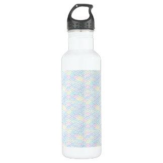Rainbow Mermaid Pastel 710 Ml Water Bottle