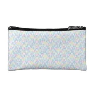 Rainbow Mermaid Pastel Cosmetic Bag