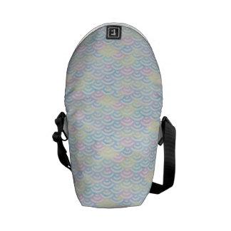 Rainbow Mermaid Pastel Courier Bag