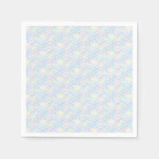 Rainbow Mermaid Pastel Paper Serviettes