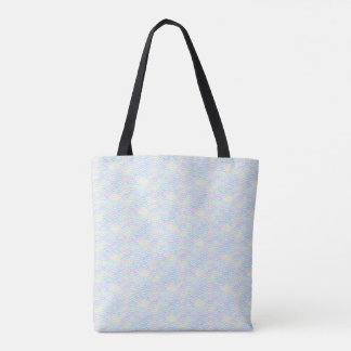 Rainbow Mermaid Pastel Tote Bag
