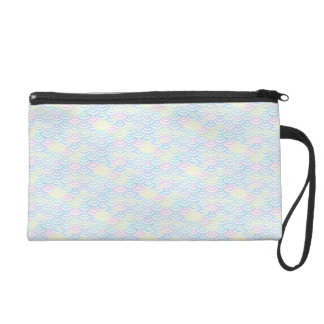 Rainbow Mermaid Pastel Wristlet