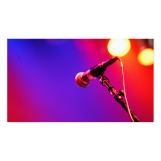 Rainbow Mic [Business] Pack Of Standard Business Cards