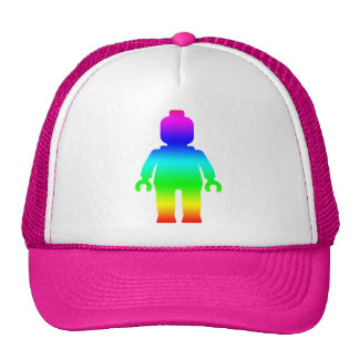 Rainbow Minifig by Customize My Minifig Trucker Hats