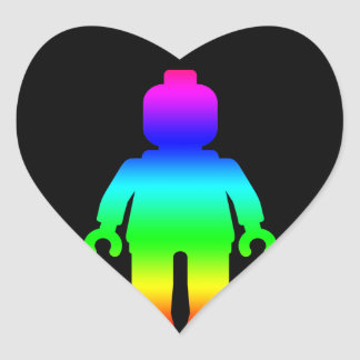 Rainbow Minifig by Customize My Minifig Stickers