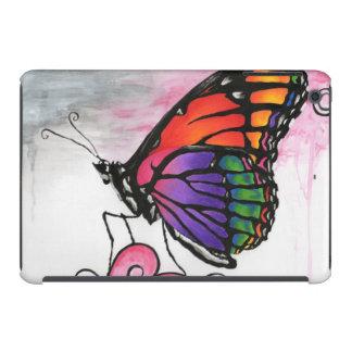 Rainbow Monarch Butterfly Fantasy Art iPad Case
