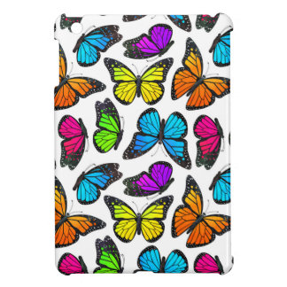 Rainbow Monarch Butterfly Pattern Case For The iPad Mini
