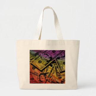 Rainbow Money Bag