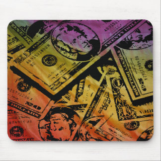 Rainbow Money Mousepad