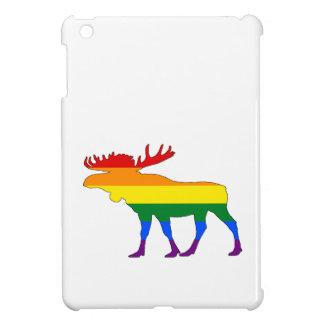 Rainbow Moose Cover For The iPad Mini