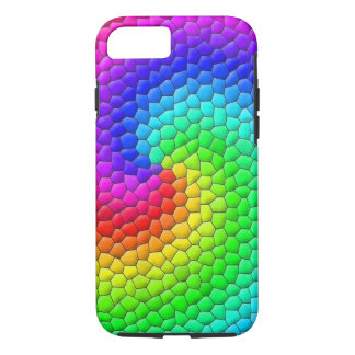 Rainbow Mosaic iPhone 7 Case
