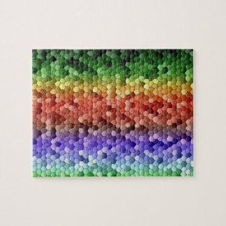 Rainbow Mosaic Puzzles