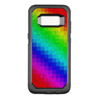 Rainbow Mosaic Tile Pattern, OtterBox Commuter Samsung Galaxy S8 Case
