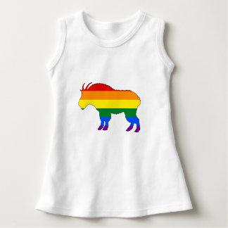 Rainbow Mountain Goat Dress