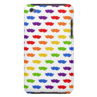 Rainbow Moustaches iPod Touch Cases