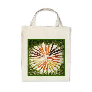 Rainbow Multicolored Carrots Tote Bag