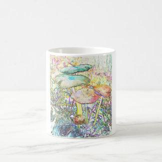 Rainbow Mushroom Coffee Mug