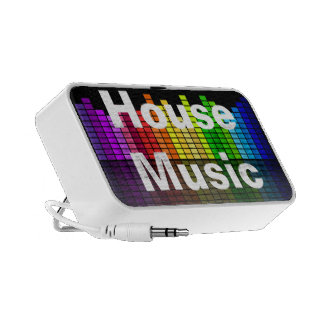 Rainbow Music Equalizer with your custom Text Mp3 Speakers