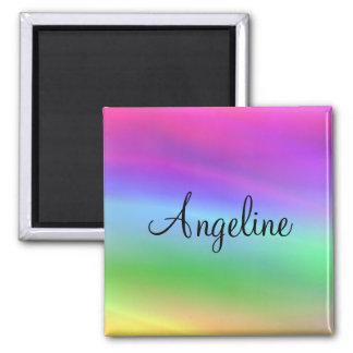 Rainbow Name Magnet