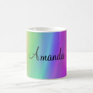 Rainbow Name Mug