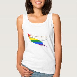 Rainbow Narwhal Singlet