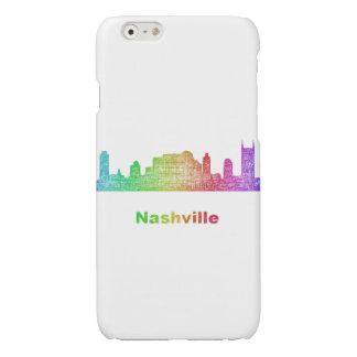 Rainbow Nashville skyline