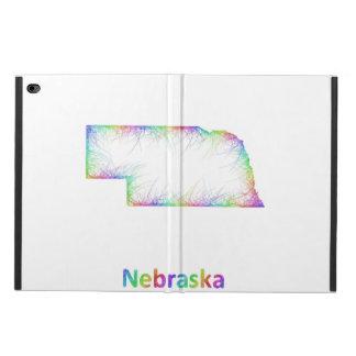 Rainbow Nebraska map