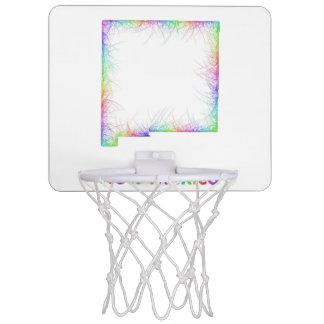Rainbow New Mexico map Mini Basketball Hoop