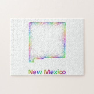 Rainbow New Mexico map Puzzle