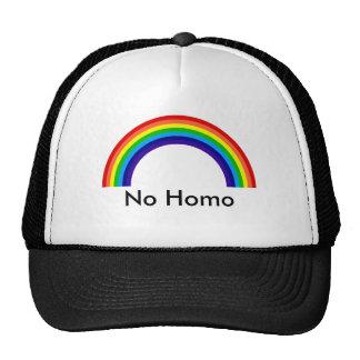 rainbow, No Homo Trucker Hats