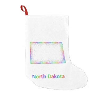Rainbow North Dakota map