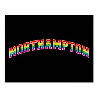 Rainbow Northampton Postcard