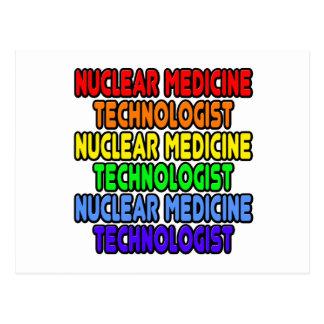 Rainbow Nuclear Medicine Technologist Postcard