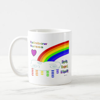 Rainbow Nurses Mug