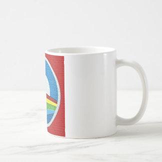 Rainbow Obama  Circle Design Mugs