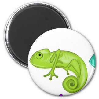 Rainbow of Chameleons Magnet