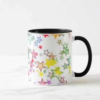 Rainbow of Colors Stars Mug