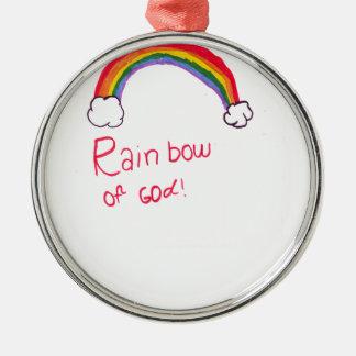 Rainbow of God Christmas Tree Ornament