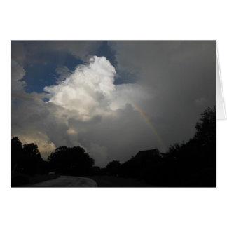 Rainbow of Hope ~ Blessings and Faith Card