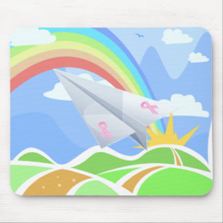 Rainbow of Hope Mouse Pad