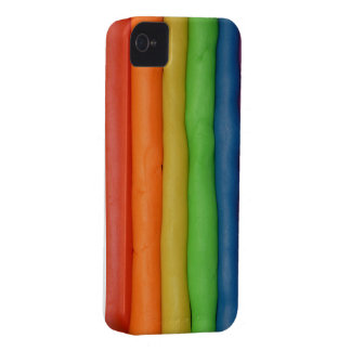 Rainbow of Squishy Dough iPhone 4 Case-Mate Cases