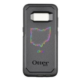 Rainbow Ohio map OtterBox Commuter Samsung Galaxy S8 Case