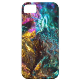 Rainbow Oil Slick Crystal Rock Case For The iPhone 5