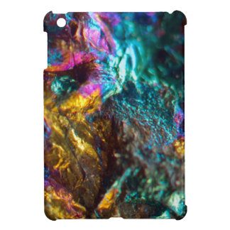 Rainbow Oil Slick Crystal Rock Cover For The iPad Mini