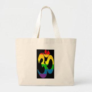Rainbow OM Jumbo Tote Bag