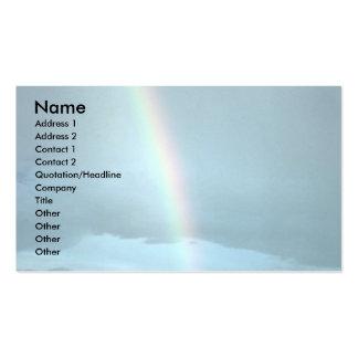 Rainbow over Canyonlands National Park, Utah, U.S. Business Card Templates