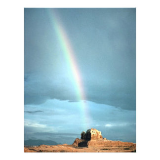 Rainbow over Canyonlands National Park, Utah, U.S. Full Color Flyer